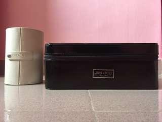 Boucheron Jewellery Holder & Jimmy Choo Storage Box