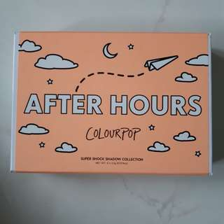 Colourpop After Hours