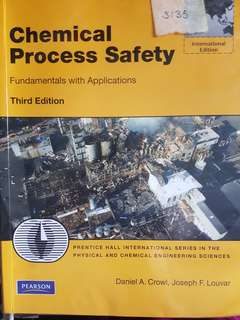 CN3135 - Chemical Process Safety 3rd Edition