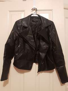 Biker jacketsize 10