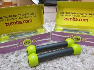 3 sets of Zumba toning bells