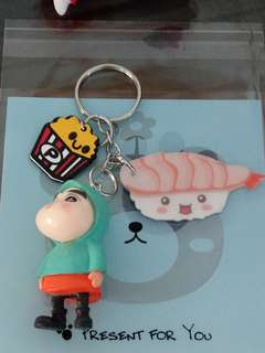 Handmade shin chan Keychain