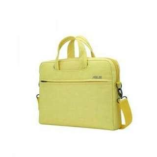 """laptop bag 14"""" sling bag yellow"""