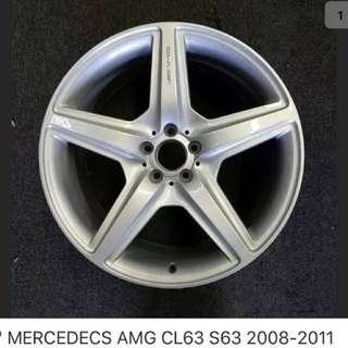 20 inch Mercedes W221 S63 original rims