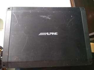Alpine powerful car amp