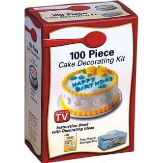 100pc Cake Decorating Kit