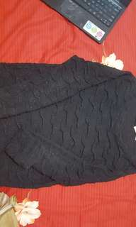 sweater black with sparkle