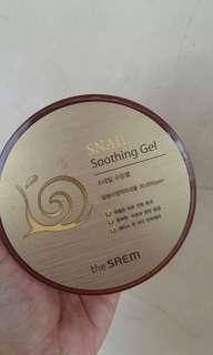 The saem snail sooting gel