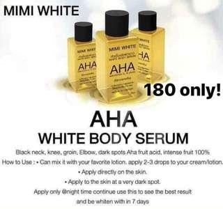 Mini white Aha serum