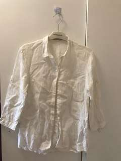 White shirt 100% new