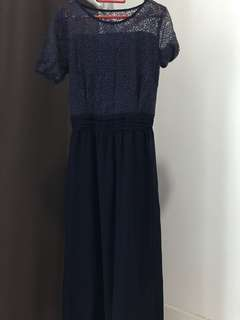 Midnight Blue Long Dress