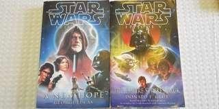 Star Wars Books - Episode IV / V