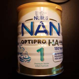 Nestle NAN Optipro HA Gold 800g **2 tins available** (Price Reduced)