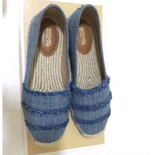 BN  Michael Kors denim shoes