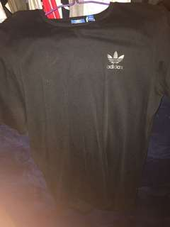 Men's Black adidas original t-shirt