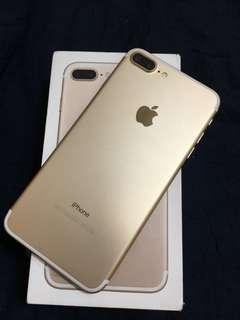 🚚 IPhone 7+ 128g(金色)