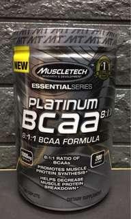Muscle Tech Platinum BCAA 200caplets