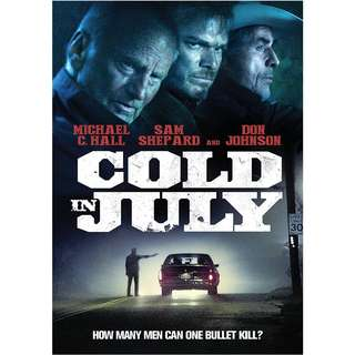 Cold In July DVD (Original)