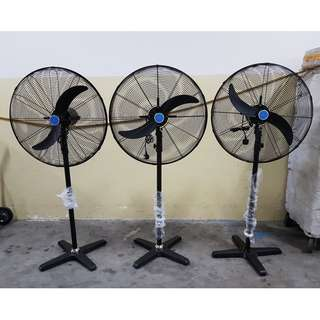 ~26 inch Industrial Powerful Stand Fan. Brand New! Free Delivery!