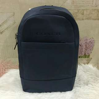 Coach Slim Backpack Midnight