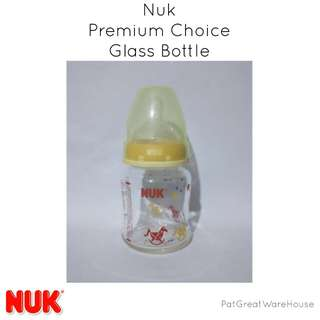 Nuk Premium Glass Bottle