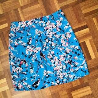Asos oriental Shakira fold skirt