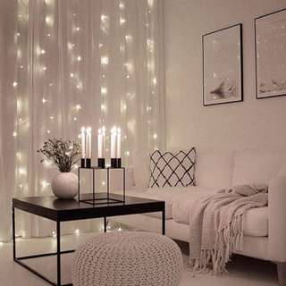 INSTOCKS; Classic Curtain Fairy Lights