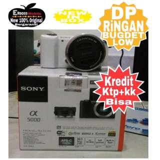 Sony Alpha A5000 KIT 16-50mm Resmi-cash/kredit Dp 500rb ditoko ktp+kk Wa;081905288895