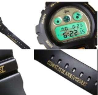 STUSSY 25TH ANNIVERSARY x G-Shock watch