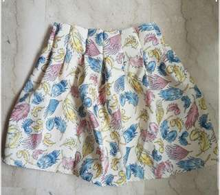 FREE!!! Colourful Printed Skirt