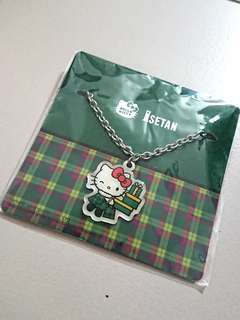 BNIB Hello Kitty Isetan Bangkok Bag charm