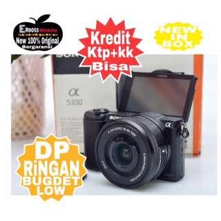 Sony Alpha a5100 Kit 16-50mm Resmi-cash/kredit Dp 1jt ditoko ktp+kk Wa;081905288895