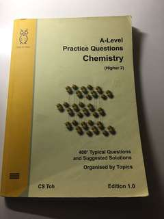 A LEVEL H2 CHEMISTRY - practice questions
