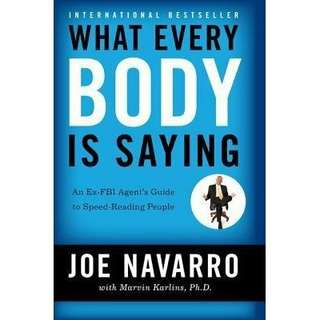 eBook - What Every Body is Saying by Joe Navarro