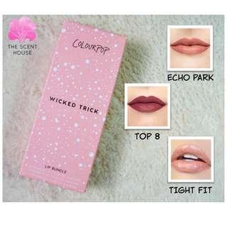 ColourPop Wicked Trick Lip Set