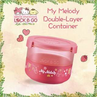 Lock & Go My Melody GO double layered container