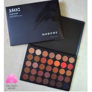 FREE SHIPPING! Morphe 35O2 Second Nature Eyeshadow Palette