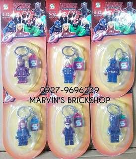 Restocks! Super Hero Avengers Keychains SY271