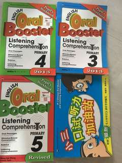 English /Chinese oral books $5 each book