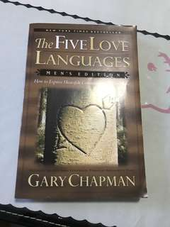 The FIVE love languages Men edition
