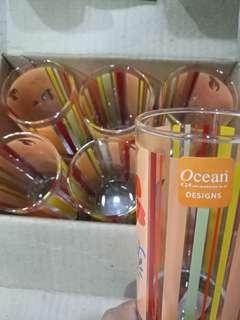 Ocean glass X 6 (280ml)