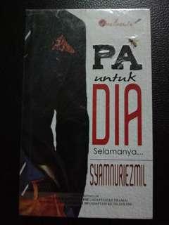 Novel : PA Untuk Dia