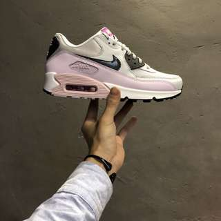 Nike Air Max 90 黑灰粉 616730-112 女子氣墊跑鞋 尺碼:36 36.5 37.5 38 38.5 39