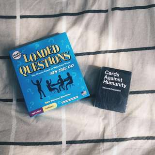 Loaded Question & Cards Against Humanity Bundle