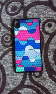 Rubber Design Phone Case for Xperia Z1