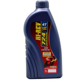 HIREV 4T OIL 724 ( SEMI SYNTHETIC ) Motorcycle