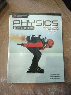 Physics(Pure) GCE O'Level 2nd edition Textbook.