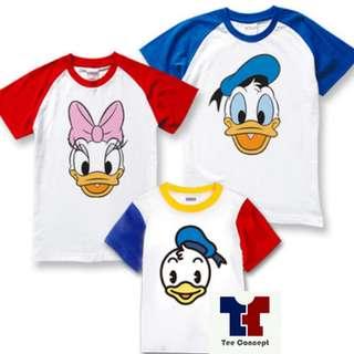 Donald Duck Family Tee Set