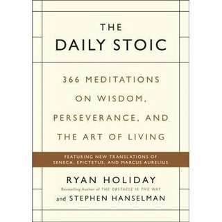 eBook - The Daily Stoic by Ryan Holiday