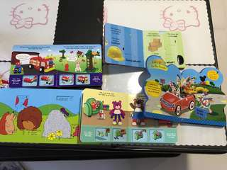 Toddler interactive Board books